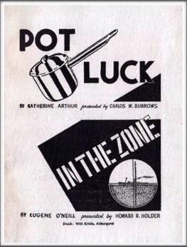 "November '44 - ""Pot Luck"" & ""In The Zone"""
