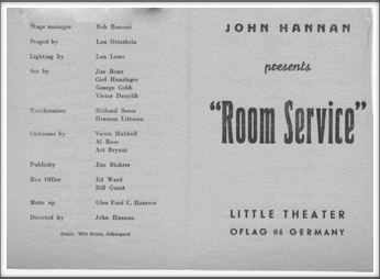"December '44/January '45 - ""Room Service"""