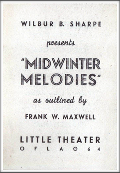 "January '45 - ""Midwinter Melodies"""