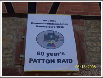"Hammelburg ""Raid"" sign"