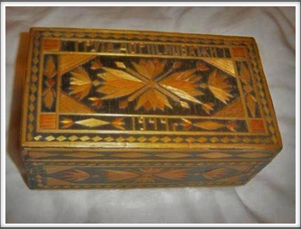 Oflag match stick box - unknown origin