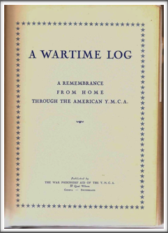 Wartime Log title page