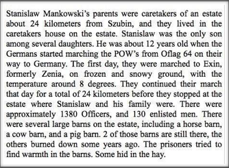 Stanislaw's story.  Click to read it.