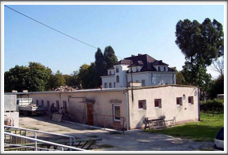 This was said to be one of the buildings of Oflag 64 used as a bakery.