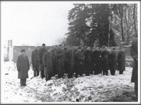 *NEW* Captain Richard Torrence burial with fellow Kriegies looking on