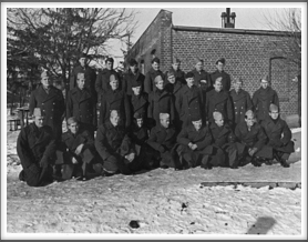 Front l-r:  3rd from left Herm Littman; 8th, Bill Cory